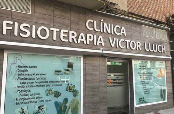 Vista exterior de la cínica de fisioterapia deportiva en Málaga Victor Lluch