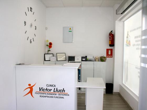 Instalaciones de la clínica de fisioterapia deportiva